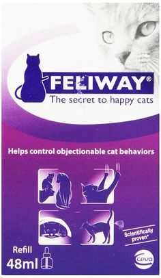 Ceva Feliway Plug-In Diffuser Refill for Cats ** See this great product.