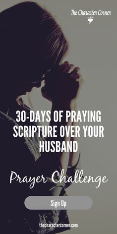 Join me in praying powerful Scripture prayers for your husband, and watch God work in his life!