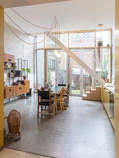 FIEP Interior Stairs, Interior Exterior, Interior Architecture, Küchen Design, House Design, Scandinavian Style Home, Sweet Home, Welcome To My House, Duplex