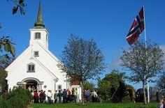 Heggedal church in Asker