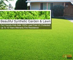 Beautiful Synthetic Lawn : Buy Quality Synthetic Grass Online click the image. Beautiful Home Gardens, Beautiful Homes, Synthetic Lawn, Grass, Home And Garden, Ebay, Image, House Of Beauty, Artificial Turf