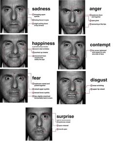 Dr Paul Ekman has spent 50 years studying facial micro expressions of people around the world, including the isolated Fore tribesmen in Papua New Guinea. Dr Ekman found that human emotions and facial expressions are universally understood and biologically innate