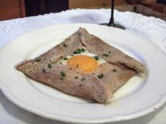Galettes de sarrasin. Pauline says use less salt and more water.