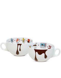 Oxford Porcelanas - Caneca Bolo de Chocolate