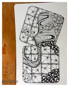SmittogSmuleFraPiabua: Zentangle ZIA Gems and Tiles