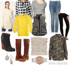 Sweetie Pie Style: The Ultimate Winter Wardrobe-9 Outfits from 13 Pieces!
