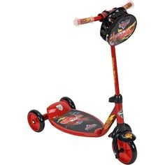 Huffy Disney Cars 3-Wheel Preschool Scooter, Red - Walmart.com