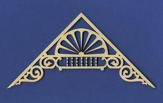 12/12 Victorian Dollhouse Gable Ornament I |  WoodVictorian Dollhouse.com