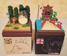 New paper craft kit lets you recreate your favorite scenes from 'Spirited Away.'