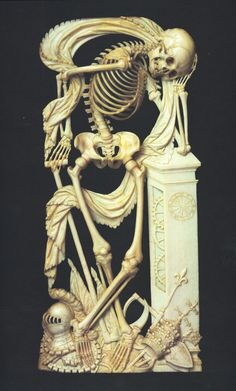 Ivory carving, 1640. Catalog @ http://www.BusaccaGallery.com