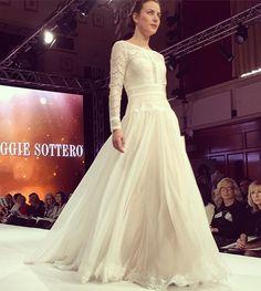 70's chic from @maggiesottero #love #weddingdress #newcollection #fall16 #runway #maggiesottero #bridalfashion #theharrogateweddinglounge