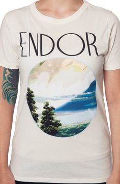 Endor Star Wars Shirt: Star Wars Ladies T-shirt