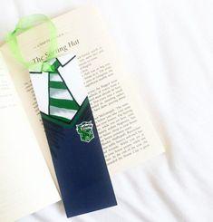 Items similar to Slytherin Bookmark on Etsy Slytherin Harry Potter, Slytherin Pride, Harry Potter Facts, Harry Potter Diy, Harry Potter Movies, Harry Potter World, Bookmark Craft, Bookmarks, Bookmark Ideas