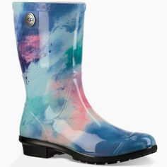 Ugg Sienna Watercolor Pattern Nwt