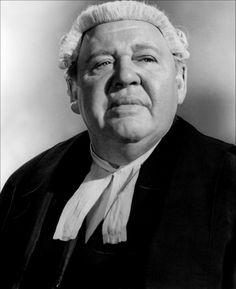 """Charles Laughton in """"Witness for the Prosecution"""" (1957). DIRECTOR: Billy Wilder."""