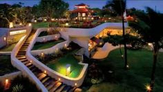 Grand Hyatt Bali Hotel, Nusa Dua, Indonesia - Dinner and evening entertainment was outstanding!