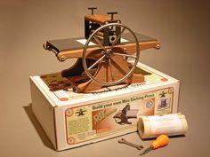 DIY Mini Etching Press an honest-to-goodness par HalfwoodPress