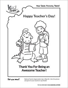 World 39 s Best Teacher Coloring Page from TwistyNoodle