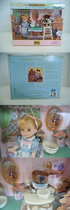 Dolls And Bears: Barbie Goldilocks And The Three Bears Collector Edition Kelly Doll New In Box -> BUY IT NOW ONLY: $19.99 on eBay!