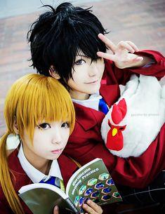 Haru & Shizuku #cosplay awesome hair techniques