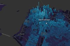 Mapbox Is Mapping the Future North Beach San Francisco, Building Map, City Layout, Cinema 4d Tutorial, 1 Gif, Digital Art Tutorial, Map Design, Augmented Reality, Cartography