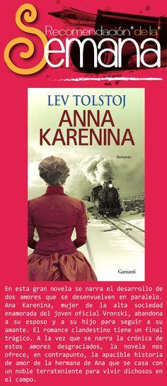 Ana Karenina, de León Tolstói. #LenteFilosofico #UCSG #ComunicacionSocial