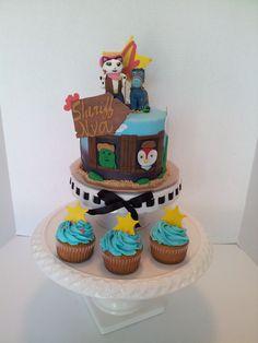 Sheriff Callie cake