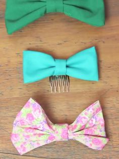 DIY: Hair Bows........ Want to learn how to make them????? Go visit her Channel on YouTube: Macbarbie07