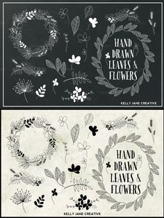 Gigantic Vector Elements Bundle - over a thousand hand drawn design elements! This is just one of many sets included