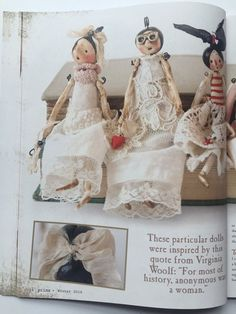 decafLatte dolls | 1000+ images about Doll ideas on Pinterest | Cloth art ...