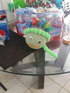 Start of my ninja turtle candy ball