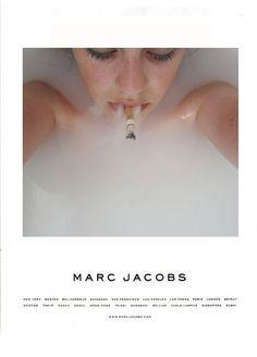 Smoke tub Marc Jacobs ad