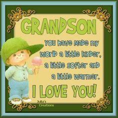 Our precious little grandson