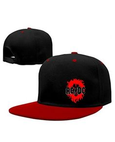 Red AC DC Ballbreaker Rock Punk Hats Cool And Fashionable Design With The  Popular Ideas. 1648bd9cb30