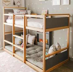 Bedroom Boys Shared Kura Bed 34 Ideas For 2019 Toddler Bunk Beds, Girls Bunk Beds, Boy Toddler Bedroom, Kid Beds, Kids Bedroom, Bedroom Decor, 1930s Bedroom, Men Bedroom, Bedroom Interiors
