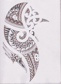 samoan ink | Pin Samoan Water Maori Dolphin Tattoo Jpg Tribal Tattoos on Pinterest