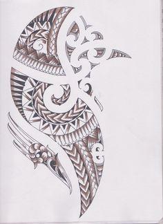 Maori/Samoan Ta Moko Concept by bloodempire