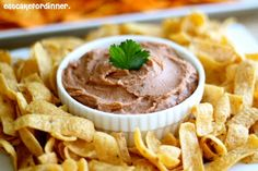 Fritos Bean Dip - Copycat - my husband loves this stuff
