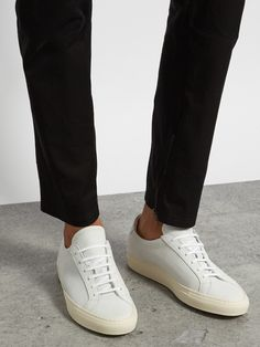 46ef99a05d085 Common Projects Achilles low-top perforated nubuck trainers at  MATCHESFASHION.COM Common Projects