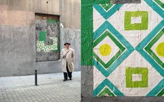 Madrid calle Lavapies // Spanish street artist Nuria Mora