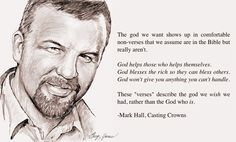 Mark Hall Casting Crowns | Sketch of the Day: Mark Hall, Casting Crowns