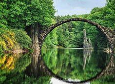Rakotzbrücke, Německo