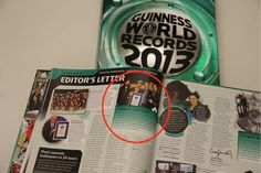 MARS IN THE GUINNESS WORLD RECORDS 2013 BOOK!