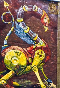 Street Art: Pixel Pancho in Bristol    hip hop instrumentals updated daily => http://www.beatzbylekz.ca