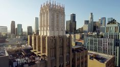 Downtown Los Angeles. Above the grit and noise of the street, downtown Los Angeles quietly provides some of the most amazing visual detail i...