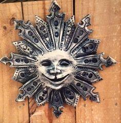 Sun mask: artist, glenda coley