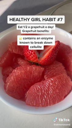 Healthy Snacks For Work No Fridge Healthy Fridge, Healthy Smoothies, Healthy Drinks, Healthy Snacks, Healthy Eating, Healthy Recipes, Tasty Videos, Food Videos, Grapefruit Benefits