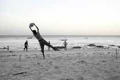 Soccer on Jambiani beach - Canvas print for office or holiday home?
