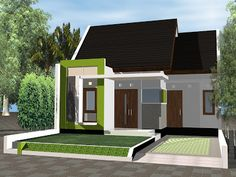 93 Best Pagar Rumah Minimalis Images Modern Houses Home Plans