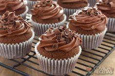 Receita de Cupcake de capuccino - Comida e Receitas